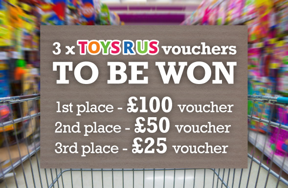 Win £150 Toys R Us Vouchers
